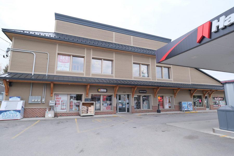 La Vieille station du village